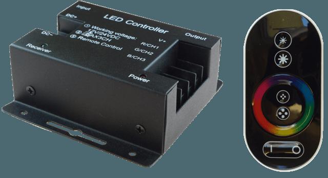 STEROWNIK LED RGB RF C-01 216W LL0189