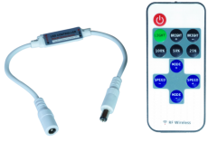 Sterownik LED RF mini monokolorowy