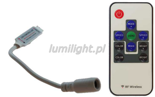 STEROWNIK LED RGB RF MINI 72W LL1339