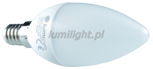 Żarówka LED typu świeca.