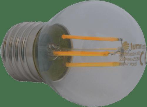 ŻARÓWKA LED G45-FIL E27/360° 5,5W CIEPŁA LL2459