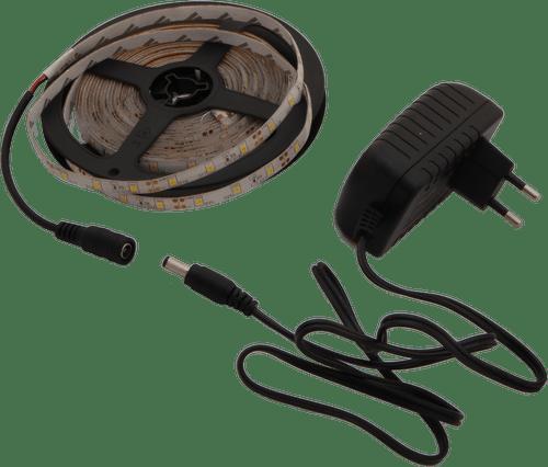 ZESTAW TAŚMA LED + ZASILACZ 300×3528 36W IP65 ZIMNA LL2565