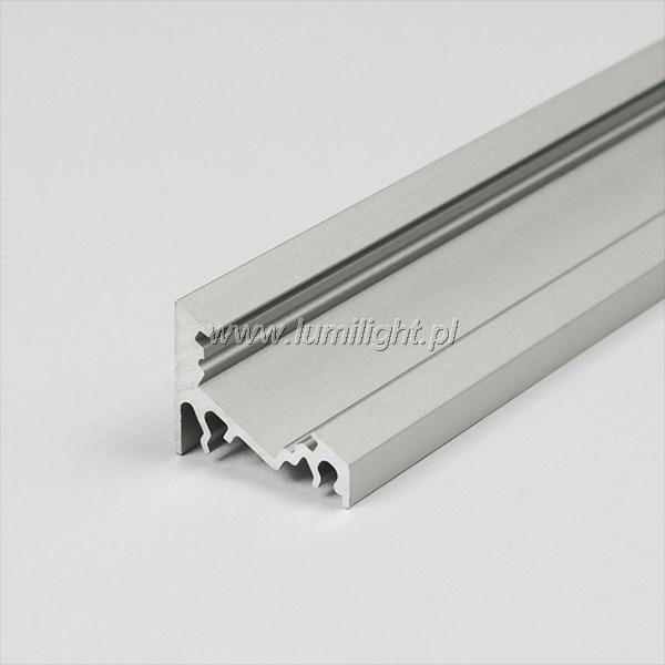 Profil LED P3 narożny anodowany